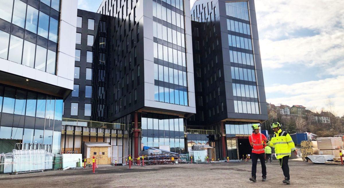 Bilde av Oslo K bygninger utenfra